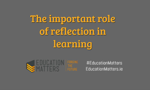 The important role of reflection in learning