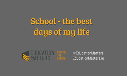 School – the best days of my life
