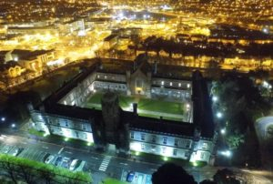 Aerial view of NUI Galway Quadrangle