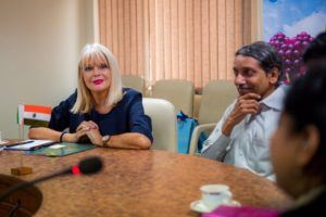 Minister Mary Mitchell O'Connor leads trade mission to India