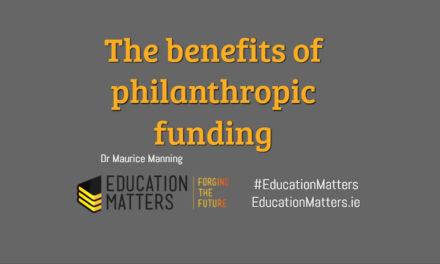 The benefits of philanthropic funding
