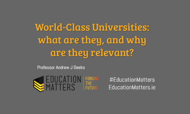 World-Class Universities: what are they, and why are they relevant?