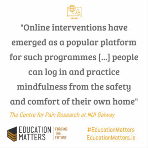 online mindfulness training for multiple sclerosis from EducationMatters.ie