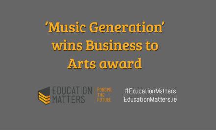 'Music Generation' wins Business to Arts award