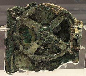 Figure 2.1 – The Antikytheria mechanism was an early 'intelligent' computer because it could predict sun, moon and planetary movements.