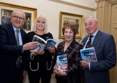 Dr Brian Mooney, Minister Mary Mitchell O'Connor, Phyllis Mitchell, Prof Maurice Manning