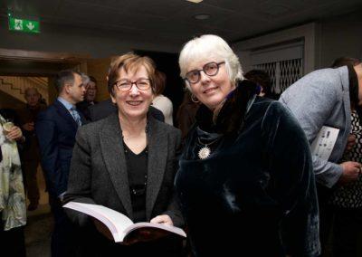 Prof Jane Ohlmeyer (right)