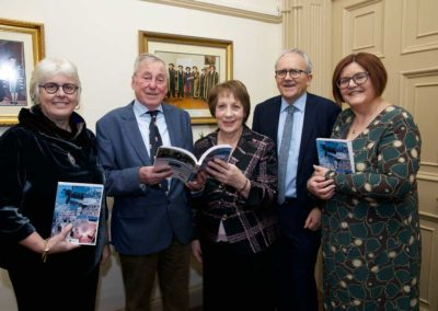 Prof Jane Ohlmeyer, Prof Maurice Manning, Phyllis Mitchell, Dr Brian Mooney, Dr Anne Looney