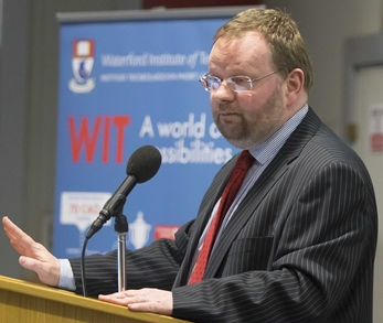 Dr Derek O'Byrne, Registrar and Vice President for Academic Affairs, Waterford Institute of Technology (WIT)