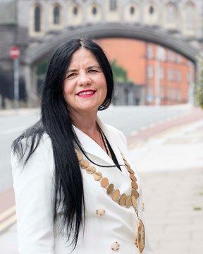 Ann Pigott, President of the Association Teachers Ireland.