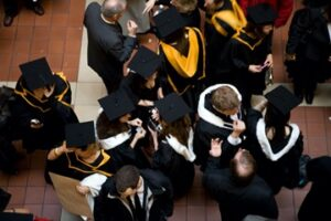 Graduate Commencement at rinity College Dublin