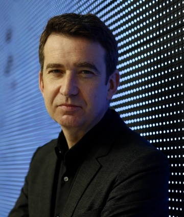 Mark Little, CEO of Kinzen, former RTÉ journalist, and first Media Fellow of the Trinity Long Room Hub.